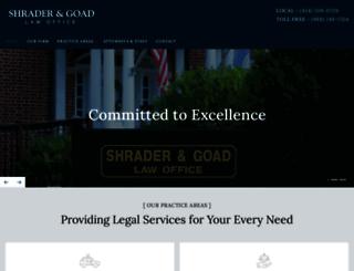 jthompsonshrader.com screenshot