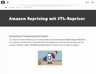 jtl-repricer.de screenshot