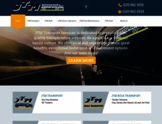 jtmtransport.com screenshot