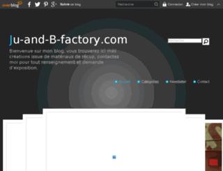 ju-and-b-factory.com screenshot