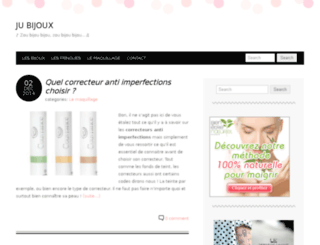 ju-bijoux.com screenshot