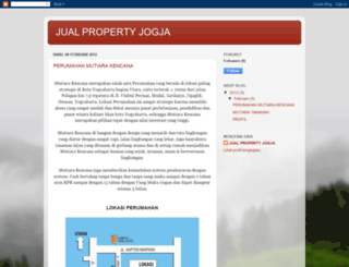 jualanpropertyjogja.blogspot.com screenshot