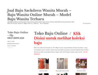 jualbajusackdresswanita.wordpress.com screenshot