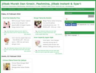 jualjilbabpashmina.com screenshot