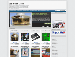 jualmurahkaskus.blogspot.com screenshot