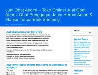 jualobataborsicytotec.com screenshot