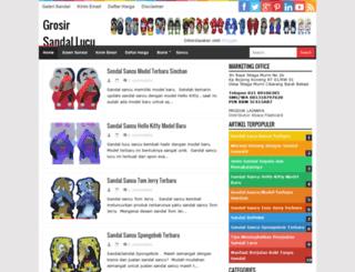 jualsandals.blogspot.com screenshot