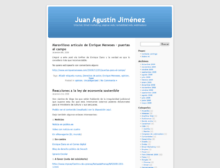 juanagustin.com screenshot