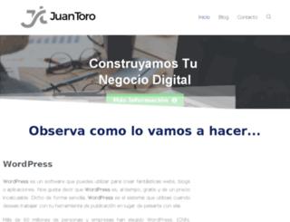 juanalonsotoro.com screenshot