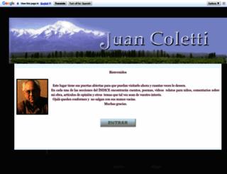 juancoletti.blogspot.com.ar screenshot