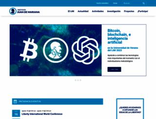 juandemariana.org screenshot