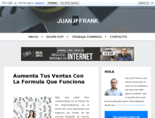 juanfrank.com screenshot