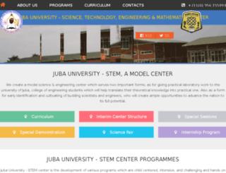 jubaustemcenter.com screenshot