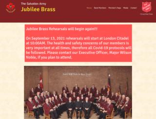 jubileebrass.com screenshot