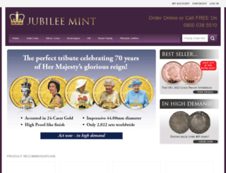 jubileemint.co.uk screenshot