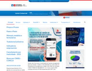 juceb.ba.gov.br screenshot