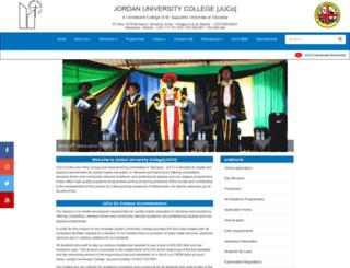 juco.ac.tz screenshot