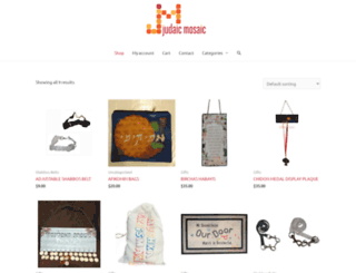 judaicmosaic.com screenshot