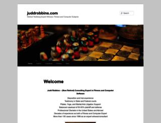 juddrobbins.com screenshot