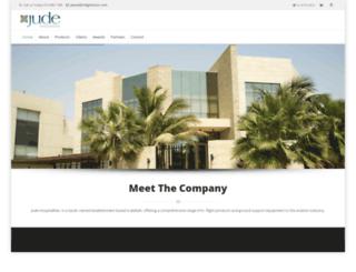 judehospitalities.com screenshot