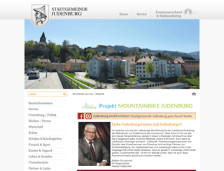 judenburg.at screenshot