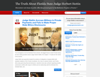 judgeherbertstettin.com screenshot