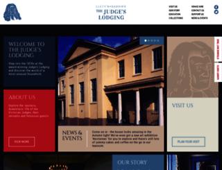 judgeslodging.org.uk screenshot
