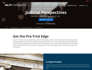 judicial.almintel.com screenshot