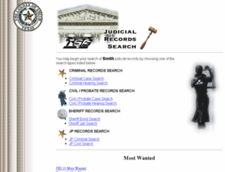 judicial.smith-county.com screenshot