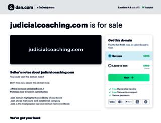 judicialcoaching.com screenshot