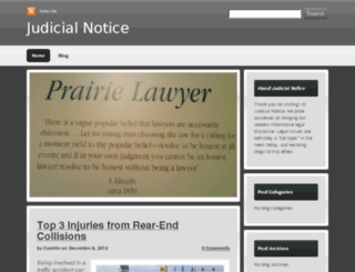 judicialnotice.devhub.com screenshot