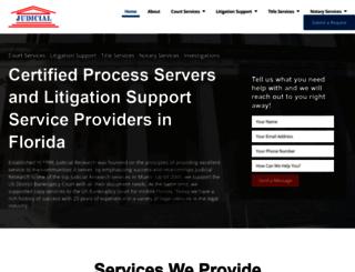 judicialresearch.com screenshot