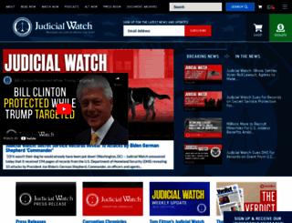 judicialwatch.org screenshot