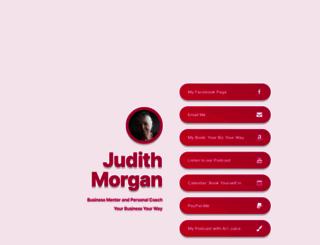 judithmorgan.com screenshot