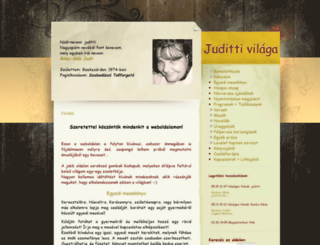 juditti.hu screenshot