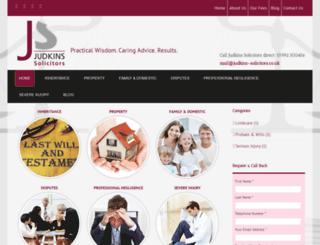 judkins-solicitors.co.uk screenshot