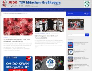 judo-grosshadern.de screenshot