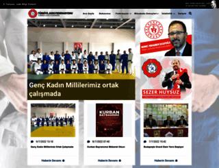 judo.gov.tr screenshot