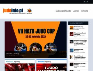 judoinfo.pl screenshot
