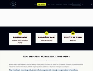 judoklubsokol.si screenshot