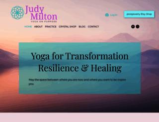 judymilton.com screenshot