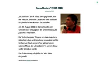 juedische.at screenshot