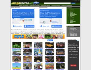 juegacarros.com screenshot