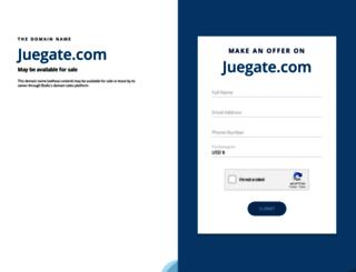 juegate.com screenshot