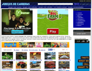 juegodecarreras.org screenshot