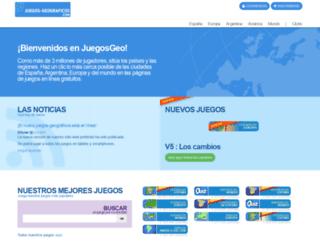 juegos-geograficos.com screenshot