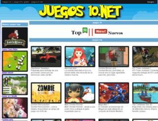 juegos10.net screenshot