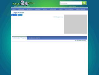 juegos24horas.com screenshot