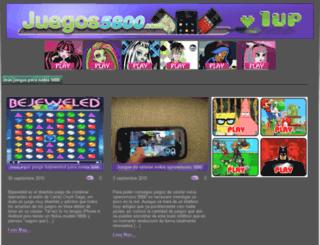 juegos5800.com screenshot