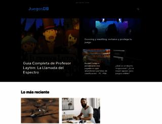 juegosdb.com screenshot